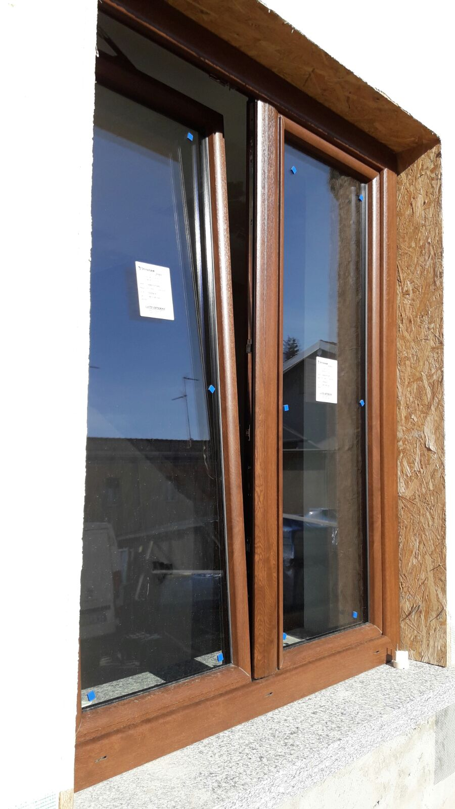 Simple pvc finto legno with pvc finto legno - Finestre usate in pvc ...